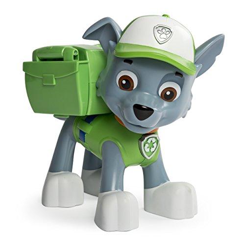 Paw Patrol - La Squadra dei Cuccioli - Jumbo Action Pup - Rocky - Personaggio 15 cm