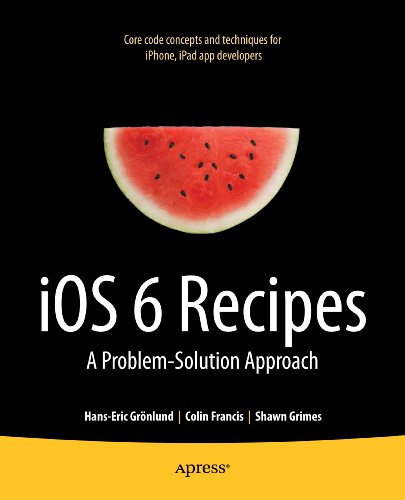 iOS 6 Recipes: A Problem-Solution Approach (English Edition)