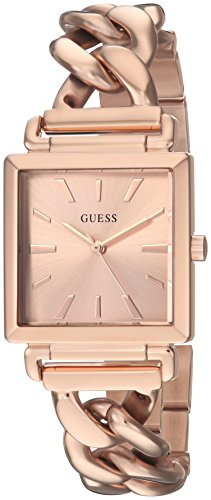 GUESS Womens Analog Quartz Watch with Stainless-Steel Strap U1029L3
