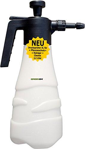 Drucksprüher 2,2 Ltr. Drucksprühgerät XL Sprühflasche, Blumensprüher Pumpsprüher Zerstäuber für Pflanzen Haus & Garten