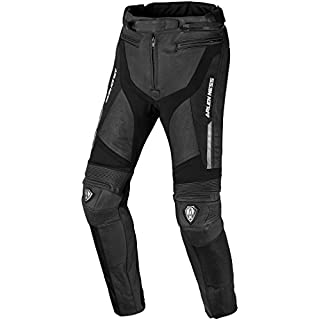 Arlen Ness Zero wasserdichte Motorrad Leder/Textil-Hose 50
