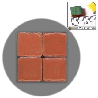 ALEA Mosaic Mosaic-Minis (10x10x3mm), 250 pieces, Dark salmon, RR02