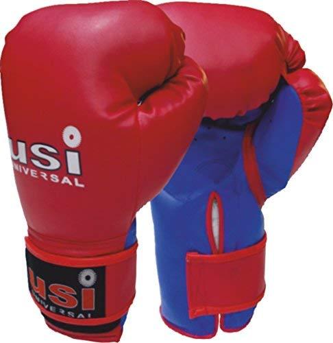 USI PVC Boxing Glove (Red/Blue, Jr(6/8oz))