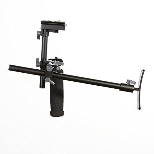 Fotga Einzelner Handgriff-Schulter-Stuetzanlage-Bracket Stabilizer + Schnellwechselplatte fuer DSLR-Kamera Camcorder Quick Release Lcd Bracket