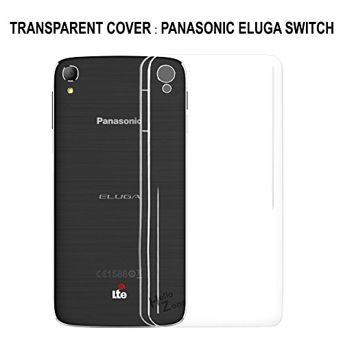 Hello Zone Exclusive Soft Transparent Crystal Clear Back Cover Back Case Cover For Panasonic Eluga Switch