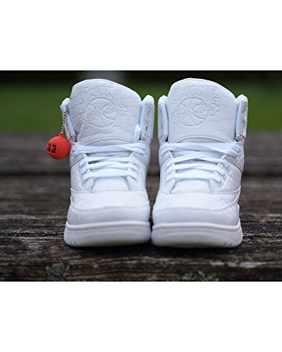 Ewing Athletics Ewing 33 HI White White Croc Basketball Shoe Men Limited Editio white white croc