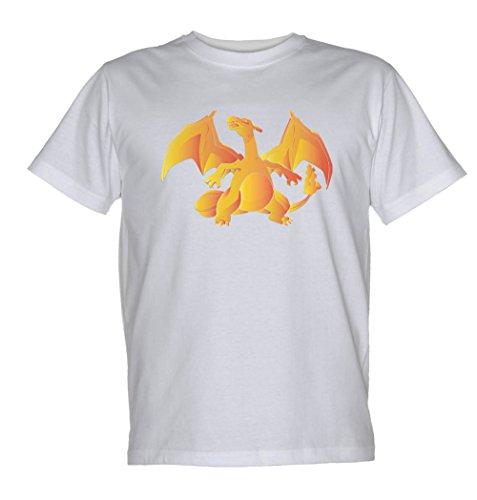 Monster Dragon Animé mixte enfant T Shirt - Gris - 5 ans