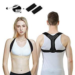 Morfone Geradehalter zur Haltungskorrektur, Rücken rückentrainer für eine geradehalter perfekte Haltung, Rückenstütze Schulter comfortisse Posture Corrector Haltungstrainer