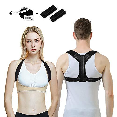 Allen Allen Damen Kleidung (Morfone Geradehalter zur Haltungskorrektur, Rücken rückentrainer für eine geradehalter perfekte Haltung, Rückenstütze Schulter comfortisse Posture Corrector Haltungstrainer)