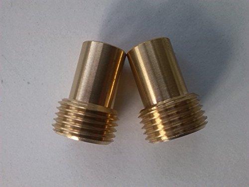 Mm ″ bsp adaptor flexible tap connector pair