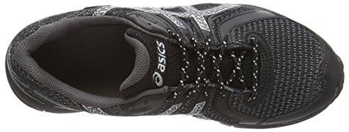 Asics Gel-fujifreeze 3 G-tx, Chaussures de Randonnée Basses Femme Noir (black/silver/charcoal 9093)