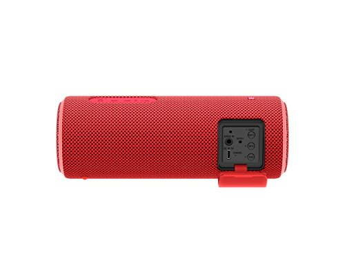 Sony SRS-XB21 Extra Bass Portable Waterproof Wireless Speaker with Bluetooth and NFC (Red)
