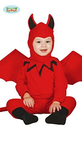 Baby Teufel Kostüm Gr. 86-98, (Kleine Kostüm Teufel Halloween Rote)
