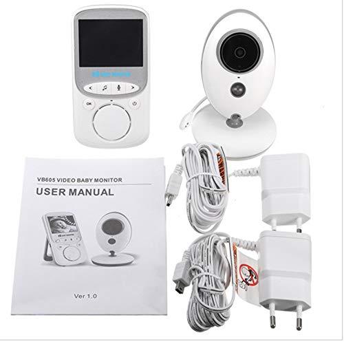 Directtyteam Babyphone Mit Kamera Babyphone Gegensprechfunktion Digitales Wireless Babyfon, Temperaturanzeige, Zwei Wege Kommunikation