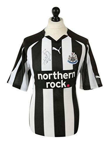 Alan-Smith-Signed-Shirt-Autograph-Newcastle-United-Home-Jersey-Memorabilia-COA