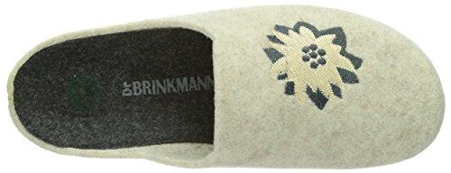 Dr. Brinkmann  320393, Chaussons pour femme Beige - Beige