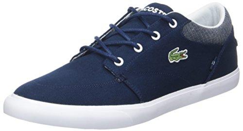 Lacoste Herren Bayliss 318 1 Cam Sneaker, Blau (Nvy/WHT 092), 43 EU