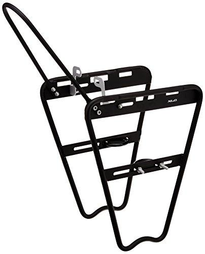 XLC Unisex– Erwachsene Lowrider-Federgabel-Gepäckträger LR-F01 Schwarz One Size