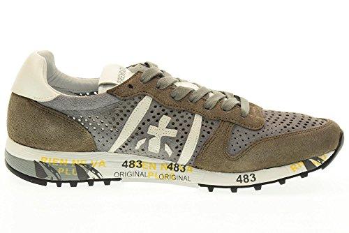PREMIATA scarpe uomo sneakers basse ERIC 2123 Tortora-grigio