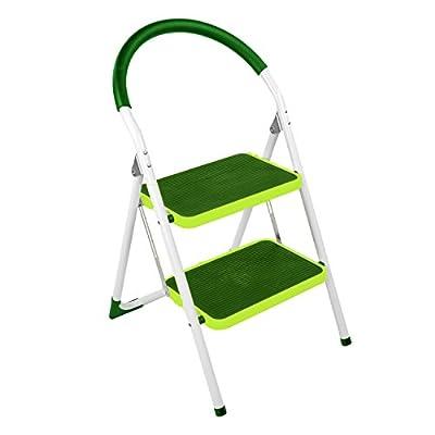 2Stufen/Stufen Leiter grün Hocker faltbar rutschfeste Mini Schritte Mehrzweck Küche Home Easy Aufbewahrung Leiter (si-hh1007)