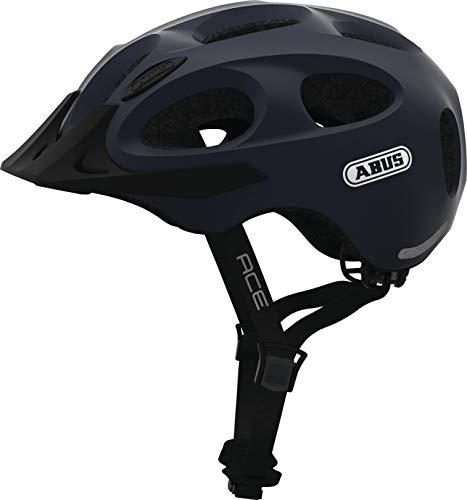 Abus Youn-I Ace Helmet metallic Blue Kopfumfang M | 52-57cm 2019 Fahrradhelm
