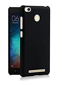 Chevron Back Cover For Xiaomi Redmi 3S Prime - Black