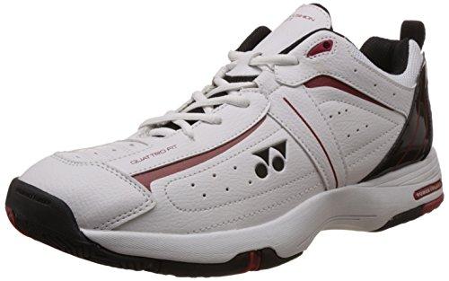 Yonex SHT Soft Tennis Shoes, UK 9 (white/Black)  available at amazon for Rs.3000