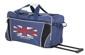 Sac de voyage COMPAGNIE DU BAGAGE à roulettes 60cm motif drapeau Anglais