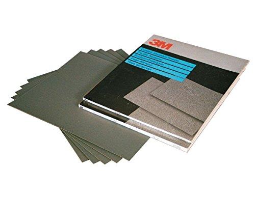 3M WETORDRY Schleifpapier Nassschleifpapier (02045) 138mm x 230mm Bogen / 10 - Wetordry 3m Schleifpapier