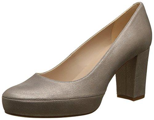 Unisa Numar_18_MTS, Zapatos Tacón Mujer, Dorado Mumm