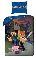 Halantex Juego de Cama Minecraft 160x 200+ 1x 70x 80