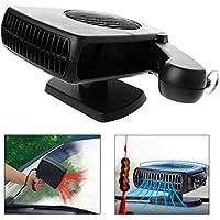 Mallalah Vaporizador eléctrico de cerámica antivaho DC 12V del desempañador de la fan del ventilador de la calefacción del coche del radiador