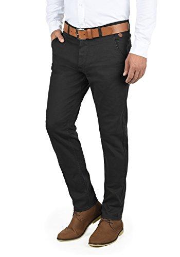 Blend Kainz Herren Chino Hose Stoffhose Aus Stretch-Material Regular Fit, Größe:W38/32, Farbe:Black (70155)