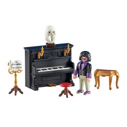 PLAYMOBIL PIANISTA CON PIANO