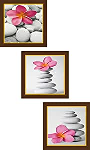 Go Hooked Digital Wall Painting Set of 3 / Paintings for Bedroom / Wall Paintings / Wall Décor / Home Décor