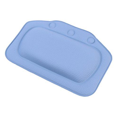 BESTOMZ Badewannenkissen   Weiches Badekissen für eine traumhafte Zeit in der Badewanne oder im Whirlpool mit Nackenkissen