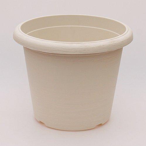 Großtöpfe terrae cilindro 45–blanc - 45 cm, extérieur intérieur 40 cm, hauteur 33 cm cm, 10 Stck