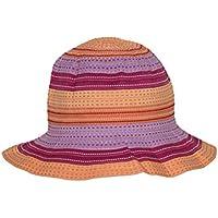 Rigon Headwear niña para niños UV Sombrero, Todo el año, niña, Color Naranja, tamaño 56 cm
