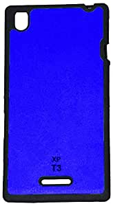 JK Shop SXT3XGOOQBLUE Back Cover For Sony Xperia T3 Blue