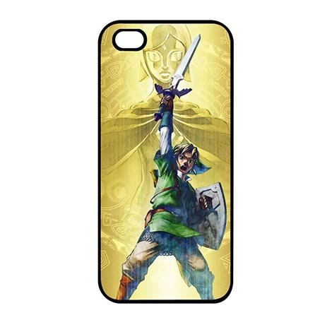 Custom Colorful Legend Of Zelda funda para Carcasa for iPhone se/iPhone 5/iPhone 5S, compatible con iPhone 5S iPhone 5
