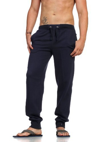 Urban Classics Mens Jeans Tackle Blu Marino