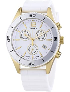 Timex Damen-Armbanduhr Modern Originals Sport Chronograph Silikon T2N827D7