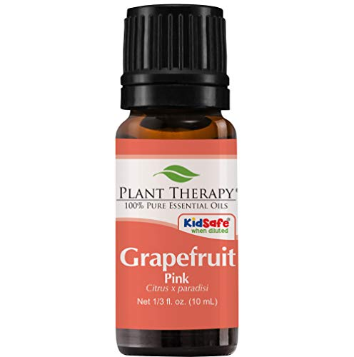 Plant Therapy Grapefruit Pink Essential Oil   100% Pure, Undiluted, Natural Aromatherapy, Therapeutic Grade   10 mL