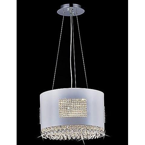 Ornati in tradizionale stile vintage Shabby Chic3W luce pendente , moderno/contemporanea funzione di altri per Crystal / metallo LED soggiorno / sala da pranzo / Corridoio , 220-240V