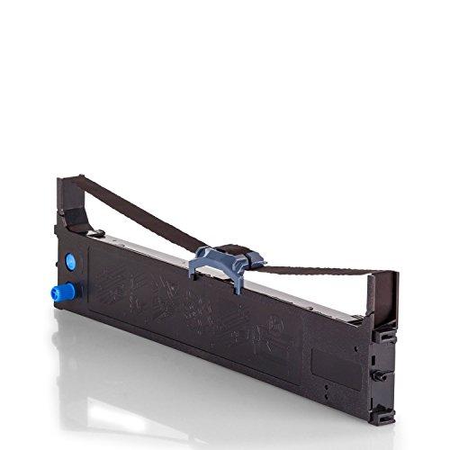 Inkadoo Farbbänder passend für OKI Microline 5100 FB kompatibel zu OKI ML5100 43821103 - Premium Alternativ - Schwarz
