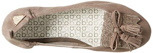 Bugatti Damen J06783g Geschlossene Ballerinas Braun (taupe 182)