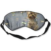 Eye Mask Eyeshade Dog With Leaves Sleeping Mask Blindfold Eyepatch Adjustable Head Strap preisvergleich bei billige-tabletten.eu