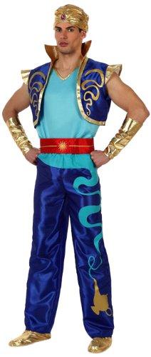 atosa 10058 costume genio magico aladino sultano t-2 (m/l)