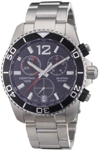 Certina Herren-Armbanduhr XL Chronograph Quarz Edelstahl C013.417.11.057.00
