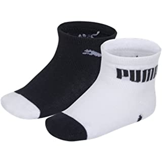 Puma Mini Cats Lifestyle - Chaussettes de Sport - Lot de 2 - À Logo - Mixte Bébé - Multicolore (Marine/Blanc) - Taille: 23-26 EU (B006OP3LMO) | Amazon Products